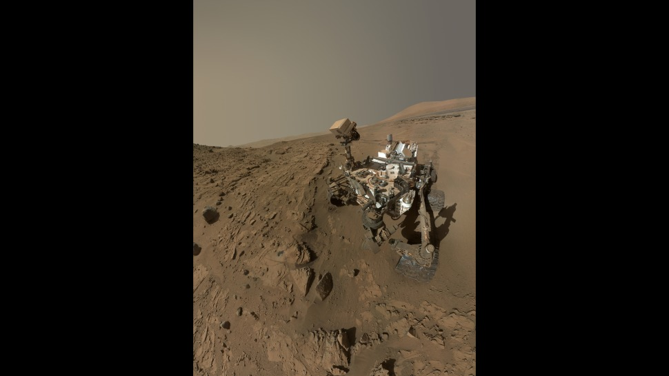 Curiosity Self-Portrait at 'Windjana' Drilling Site